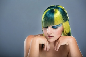 Haarfarben Coloration
